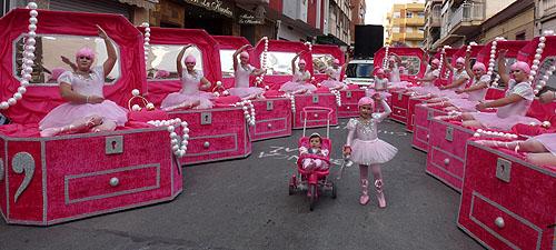 Chichipotuaka» repiten primer premio en el Carnaval de Torrevieja