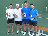 100830g Las pistas de frontenis, reinauguradas con el I Torneo Preolímpico «Ciudad de Torrevieja»
