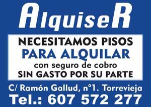 Alquiser C/ Ramón Gallud, 1