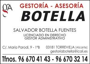 Botella C/ María Parodi, 9 – 1ºB