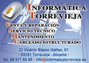 Informática Torrevieja C/ Blasco Ibáñez, 61