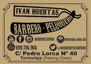 Iván Huertas barbero – peluquero C/ Pedro Lorca, 40