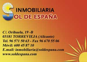 Sol de España C/ Orihuela, 19B