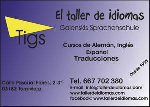 El Taller de Idiomas C/ Pascual Flores, 2-3º