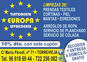 Tintorería Europa C/ María Parodi, 71